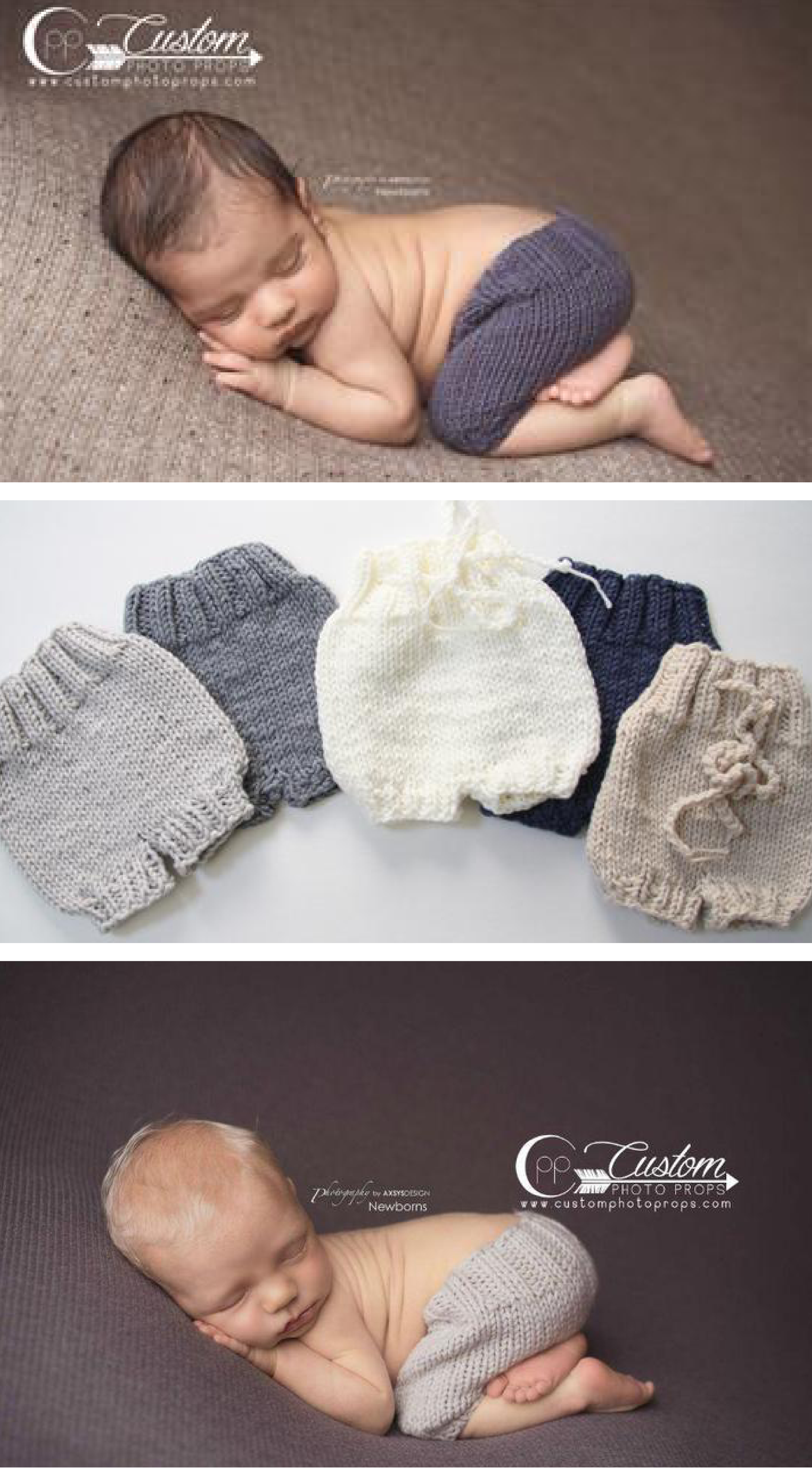 newborn photography prop photo baby photo prop blue baby gift HANDMADE NEWBORN SHORT set grey striped baby hat striped stretch knit