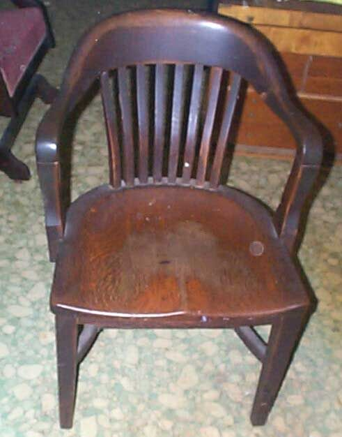 Gallery For > Old Wooden Office Chairs - Reserved For Erin: Vintage Wooden Juror Chair Courthouse Chair