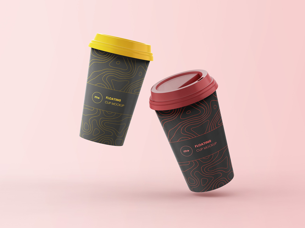 Download Reusable Cup Mockup Yellowimages