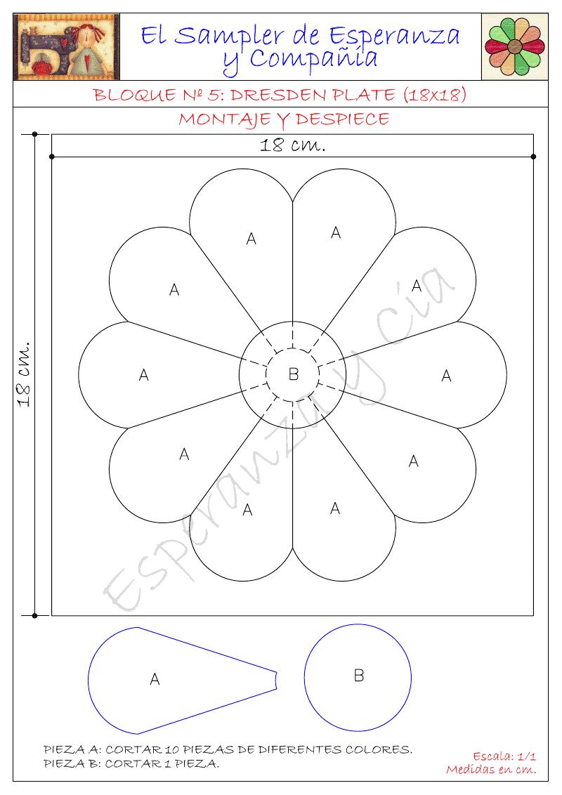 Patrones del sampler just one of many excellent patterns - Patchwork para principiantes patrones ...