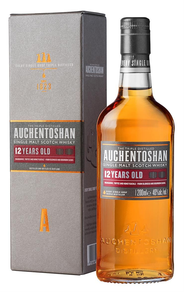 Auchentoshan 12 Year Old Single Malt tuotekuva