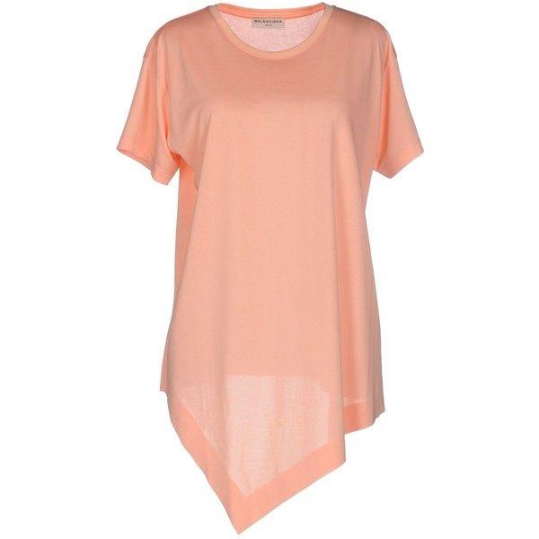 balenciaga t shirt pink