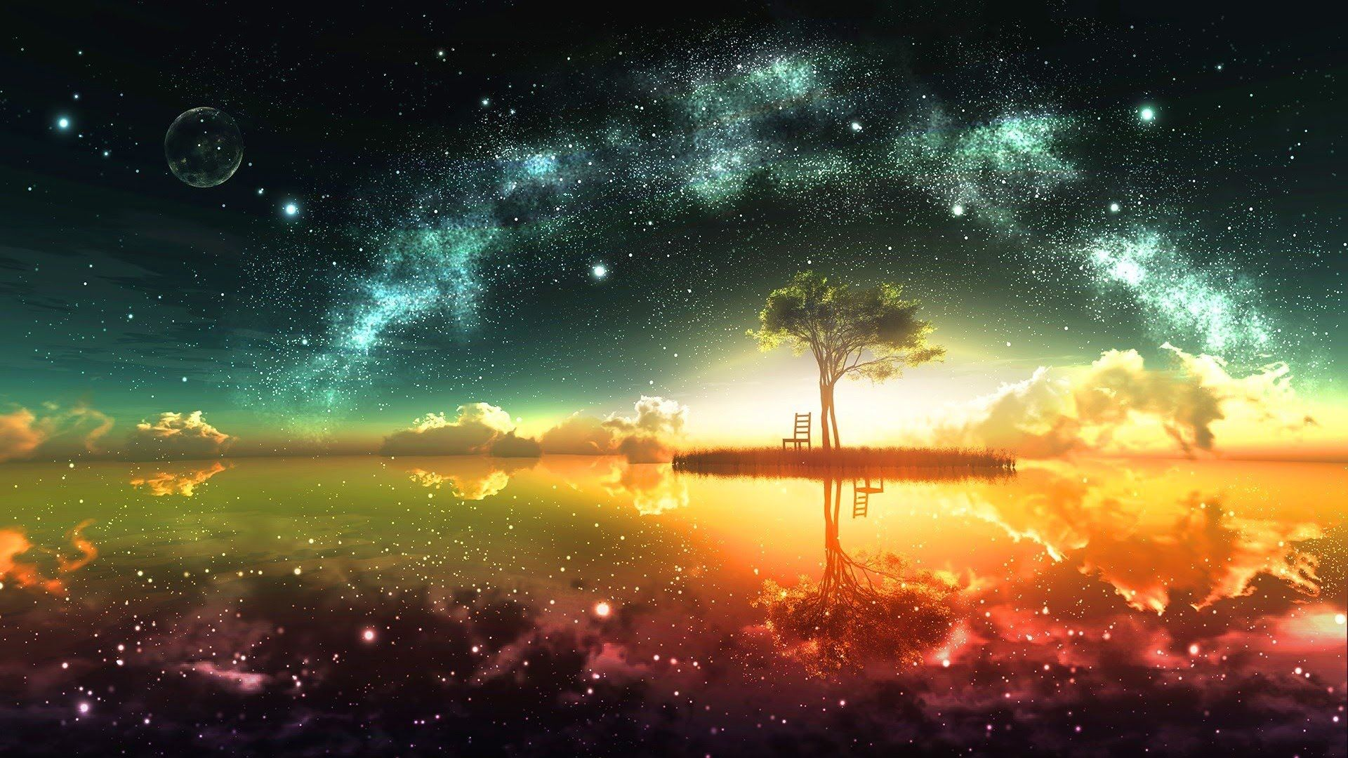 Abraham Hicks Realizing Your Dreams Night scenery