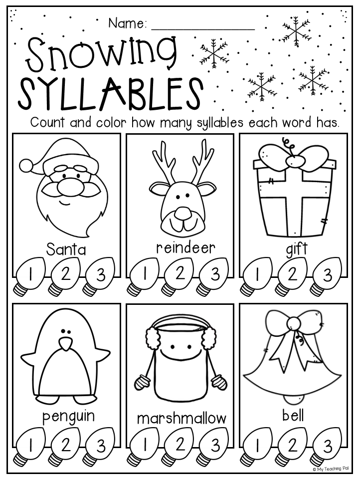 christmas worksheet booklet kindergarten first grade a day in kinder christmas worksheets. Black Bedroom Furniture Sets. Home Design Ideas