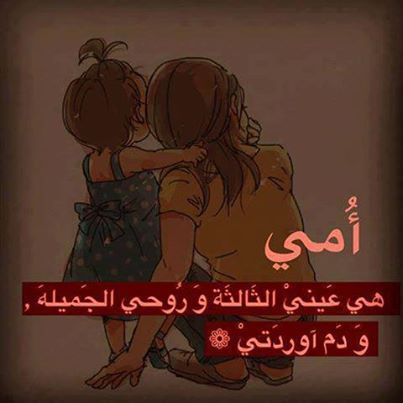 أمي هي عيني الثلثة وروجي الجميله Beautiful Arabic Words Intellegence Dear Mom