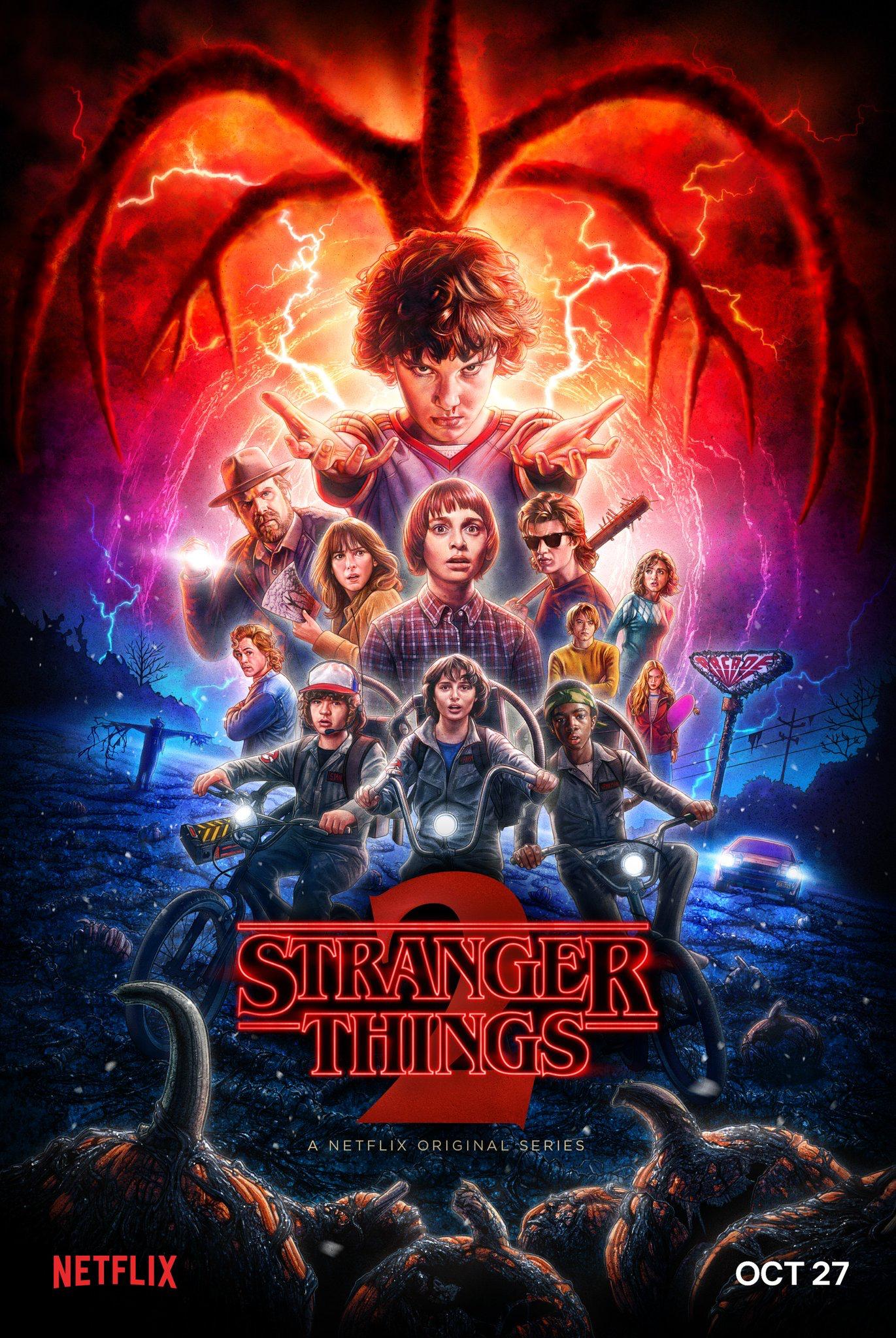 Stranger Things 2 Stranger Things Poster Stranger Things 2 Poster Stranger Things Season