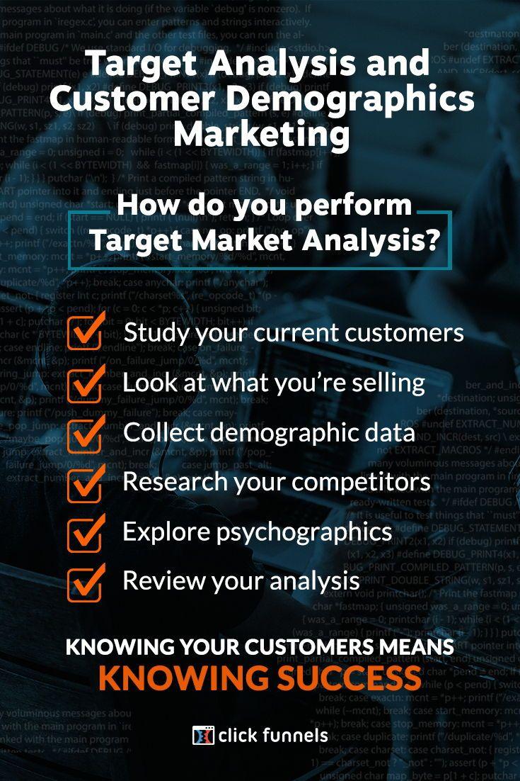 Target Analysis & Customer Demographics Marketing | ClickFunnels