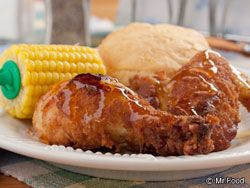 Good Ol' Honey Fried Chicken from Mr. Food <-- #WinePairing: Sutter Home Pink Moscato