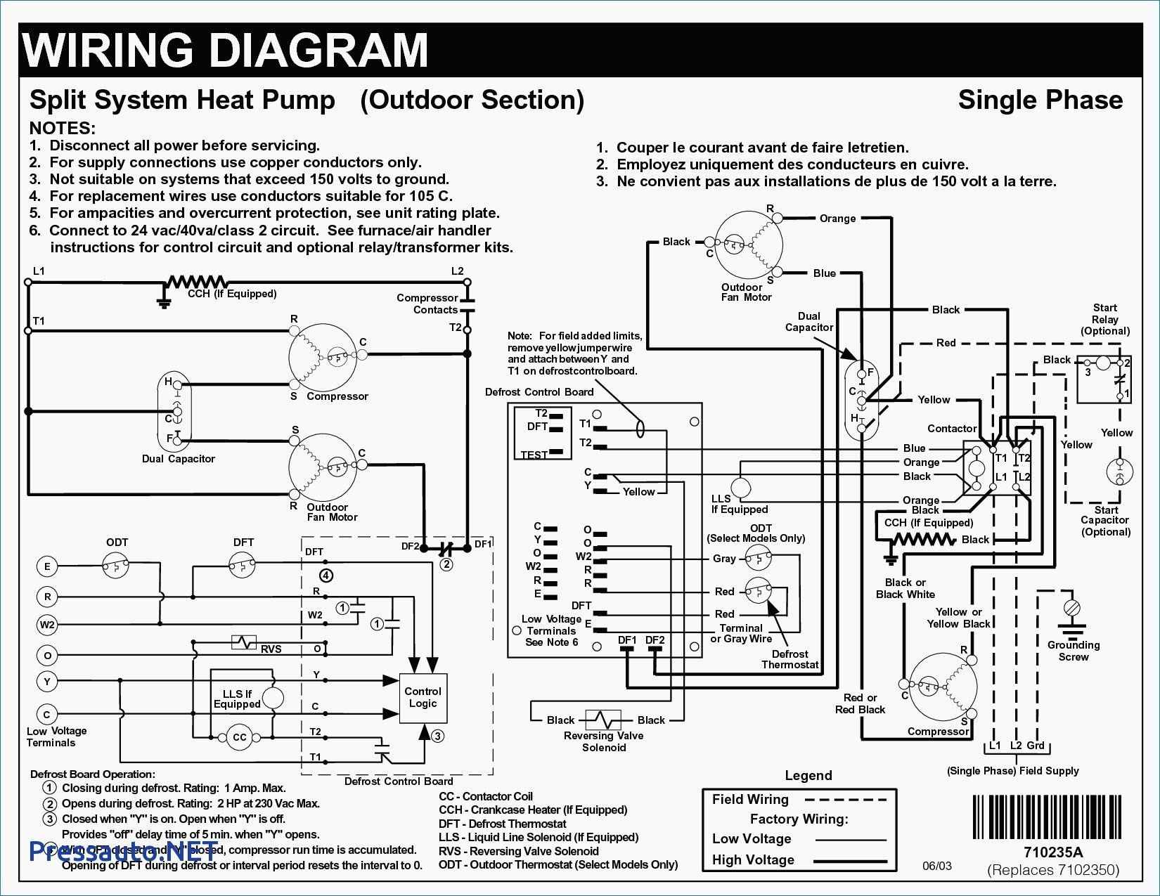 Unique Air Conditioning Split Unit Wiring Diagram