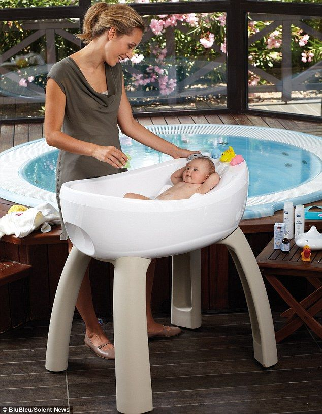 Parents can now wash their babies in the height of luxury with an ...