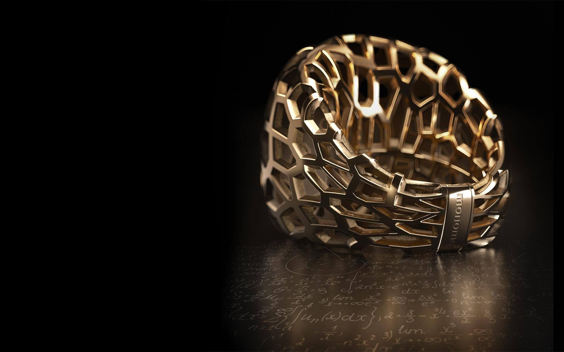 monomer //  Ring / gold / Lamia Dionysos