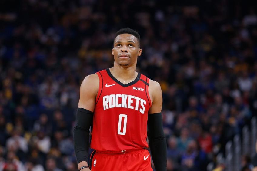 Rockets Russell Westbrook Uncertain For Start Of Playoffs In 2020 Russell Westbrook Westbrook Nba Mvp