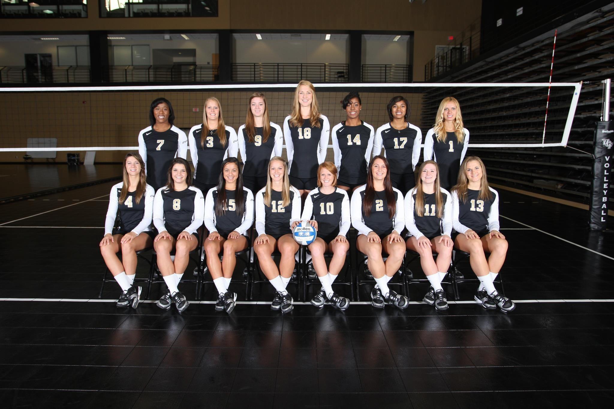 2012 Ucf Volleyball Team Women Volleyball Volleyball Team Volleyball