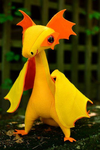 dragon! | Drachen, Kuscheltiere und Nähideen