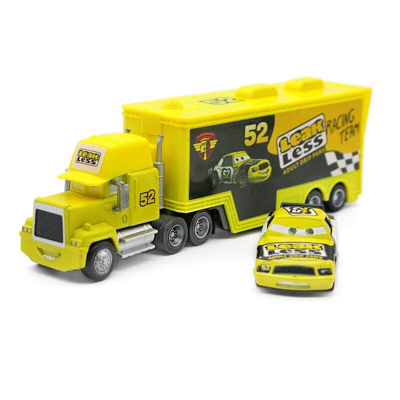 Cars Mcqueen Jackson Strom Mack Haulers Truck Racers Metal Toy