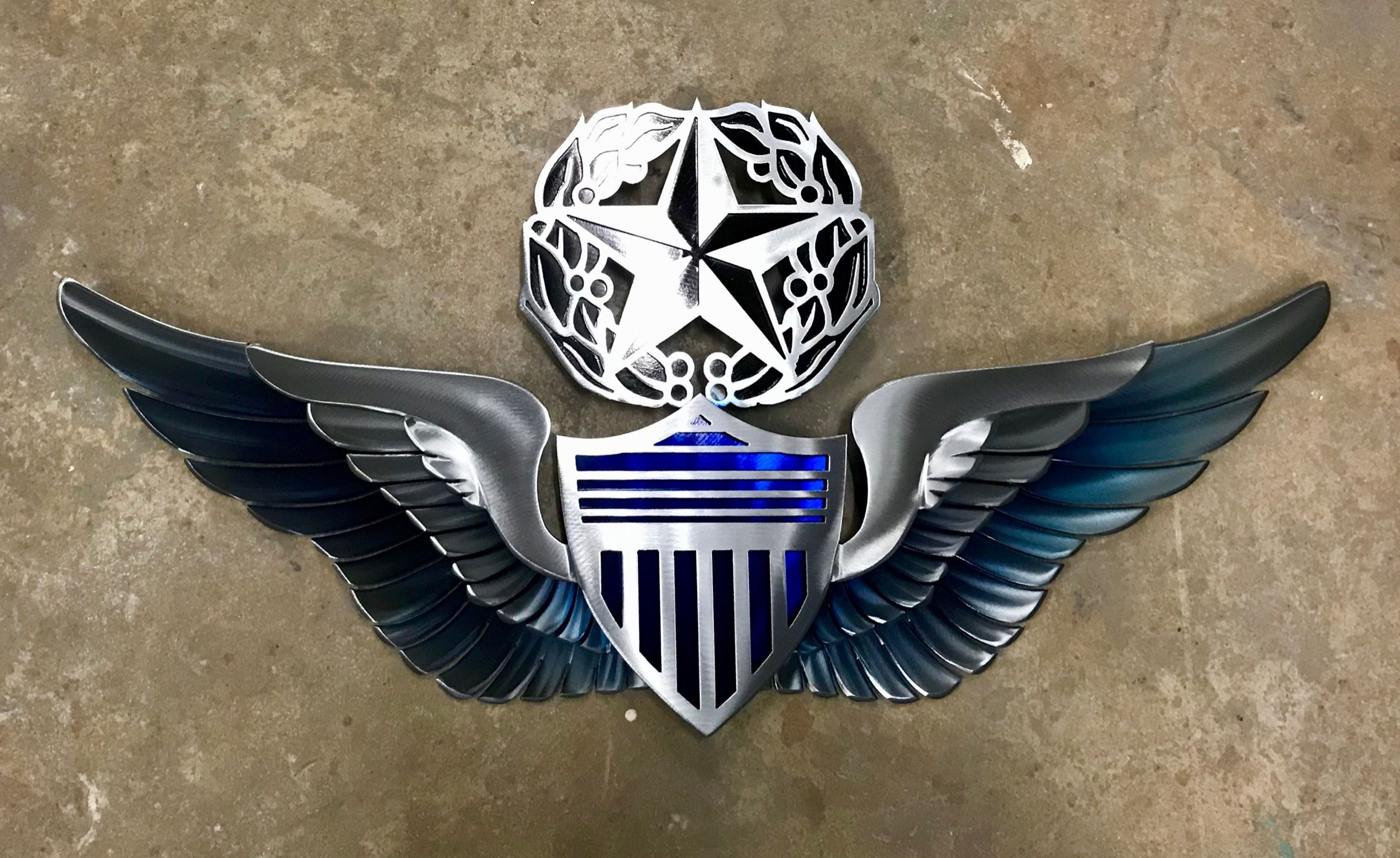 Army Military USA Metal Art