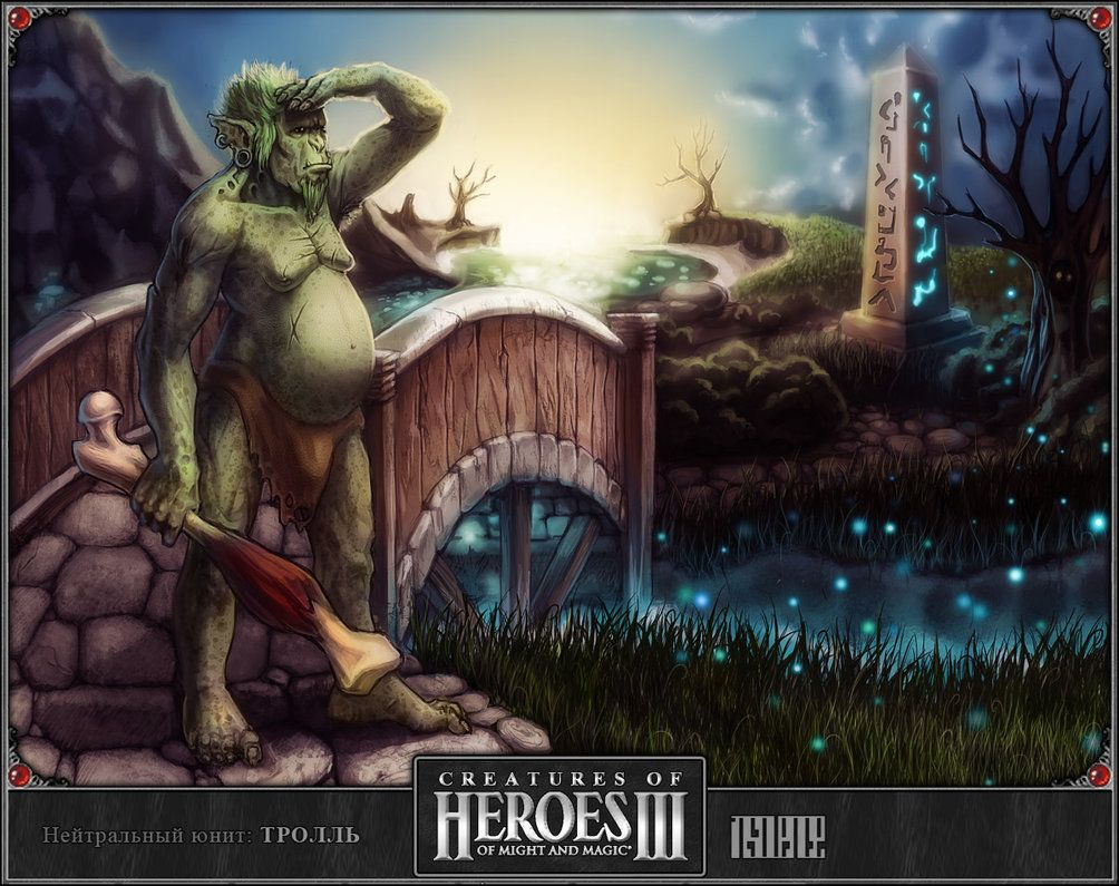 homm iii troll by on deviantart heroes of might and magic iii pinterest deviantart