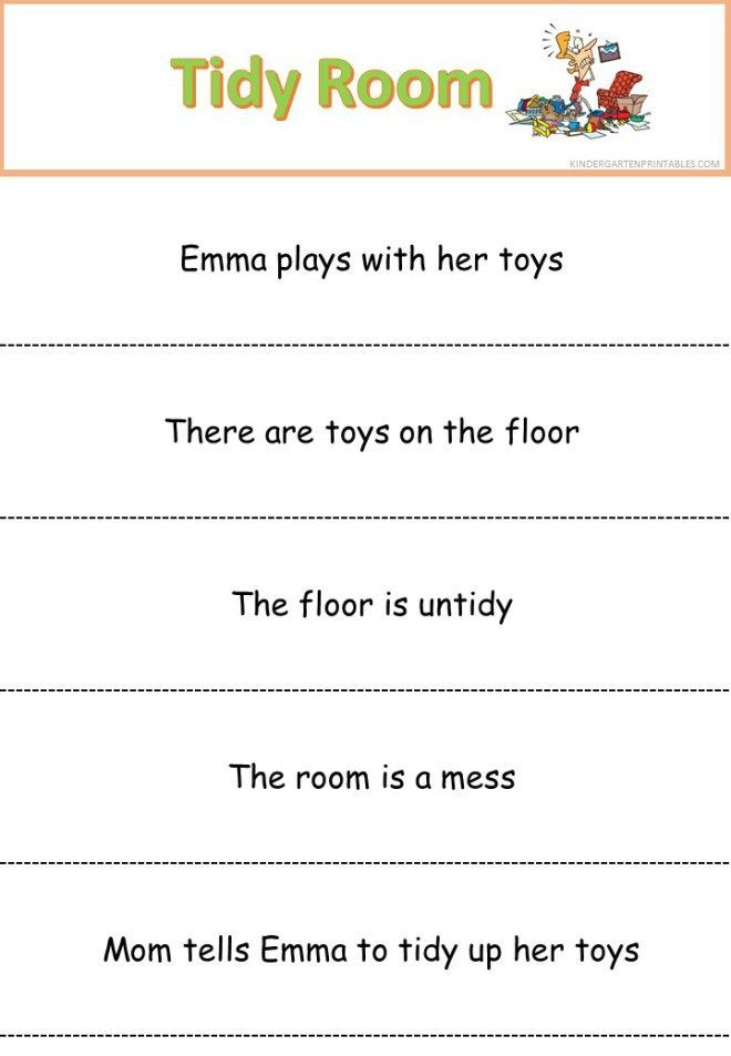Simple sentences reading slips - time for bed | Reading | Pinterest ...