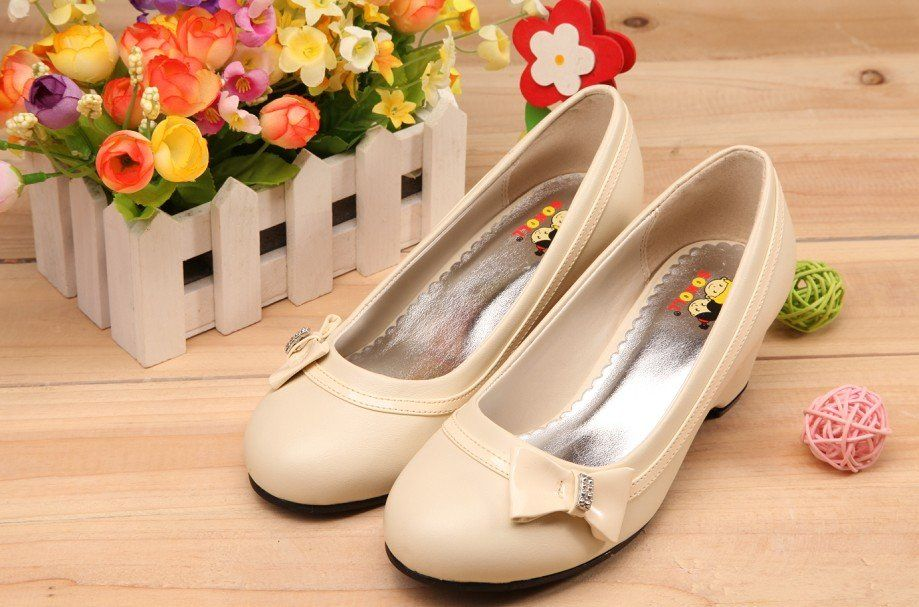 3a011487d824 Shoes Girls Kids Heels Size 26~34 -in Girls from Shoes on Aliexpress