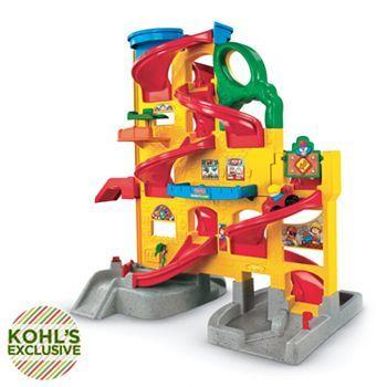 Fisher-Price Little People Wheelies Stand 'n Play Rampway