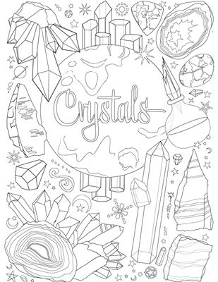 Home Witch Coloring Pages Book Of Shadows Coloring Books