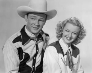 Roy Rogers and Dale Evans circa 1950 - Silver Screen Collection/Getty Images