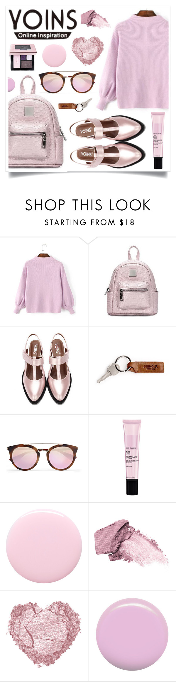 """""""Sweet Dreams (Yoins 1)"""" by racanoki ❤ liked on Polyvore featuring Prada, Nails Inc., Elizabeth Arden, Jin Soon, yoinscollection and loveyoins"""