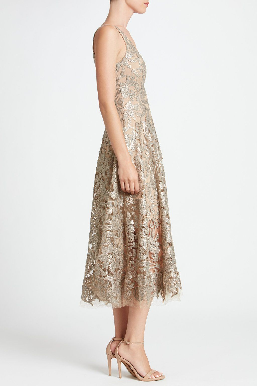 d0565f08c0d58 Blair Sequin Lace Fit and Flare Midi Dress - FINAL in 2019 | Mother ...