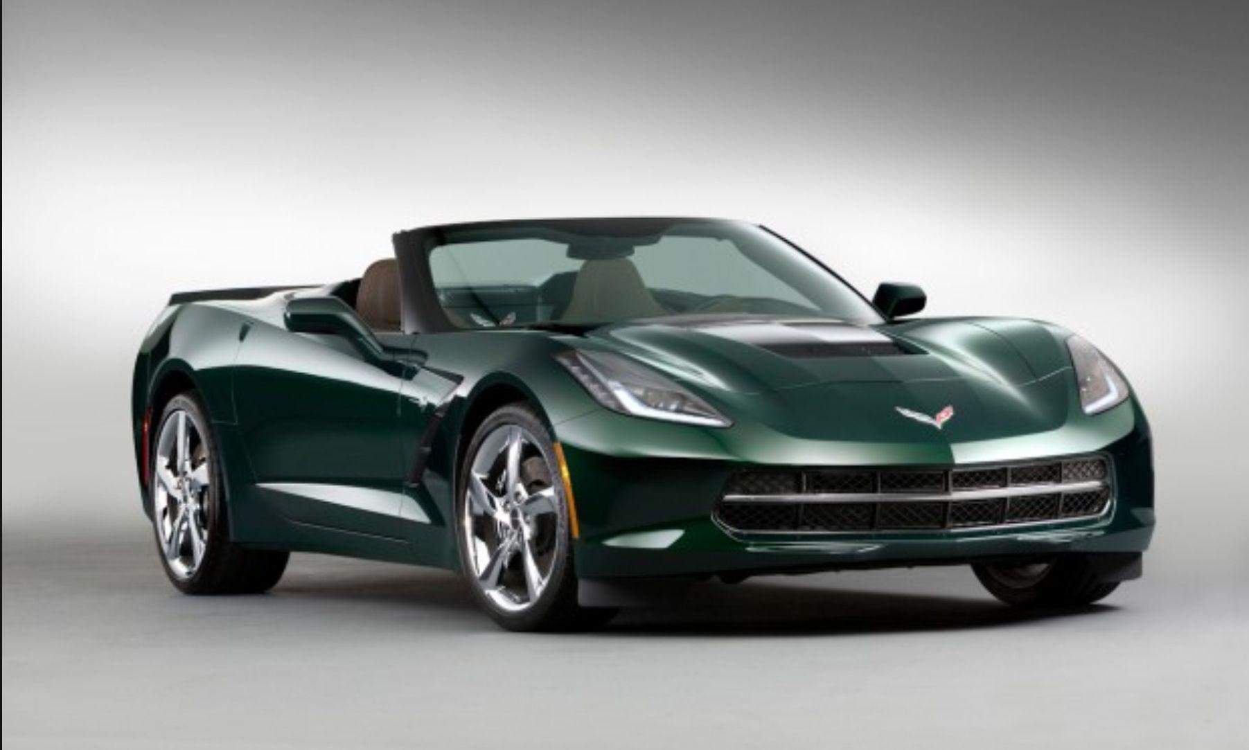 2014 Stingray convertible ️ ️ Love the color. Corvette