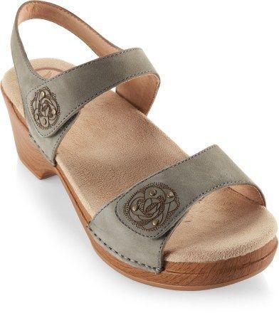 Dansko Sonnet Nubuck Sandals - Women's