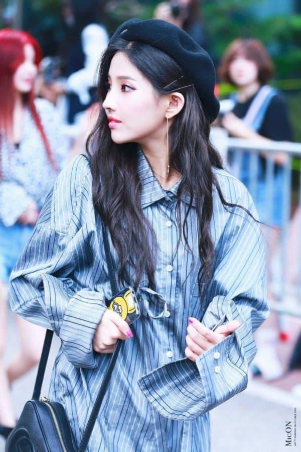Top 10 K Pop Idols In Beret Hat Kbizoom Mũ Be Re Nữ Thần Kpop