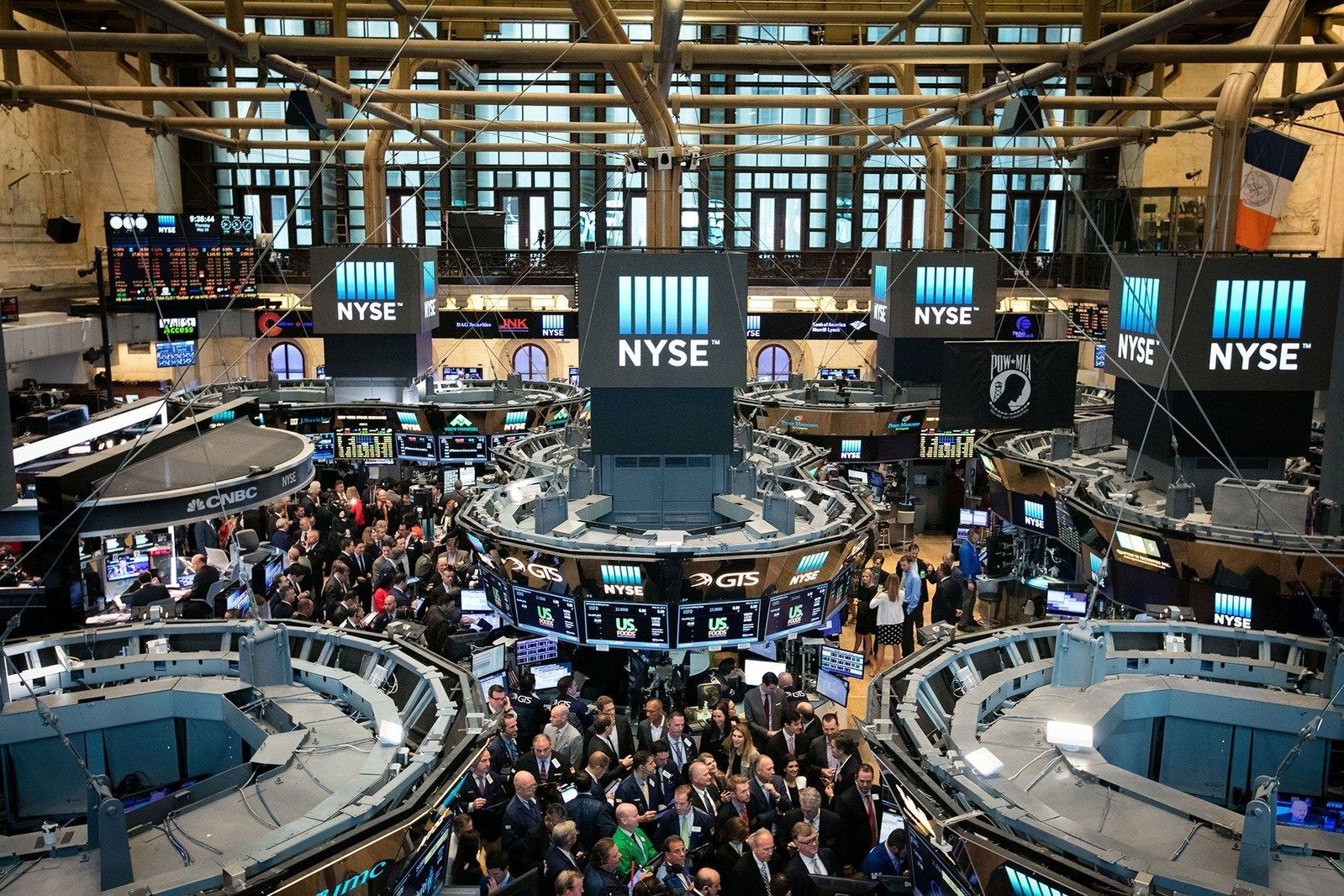 Nyse Wall Street Stock Exchange Trading Brokers Caribbean
