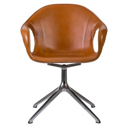 chaise de bureau elephant cuir pied araignee kristalia chaises bureau ambiance the conran shop