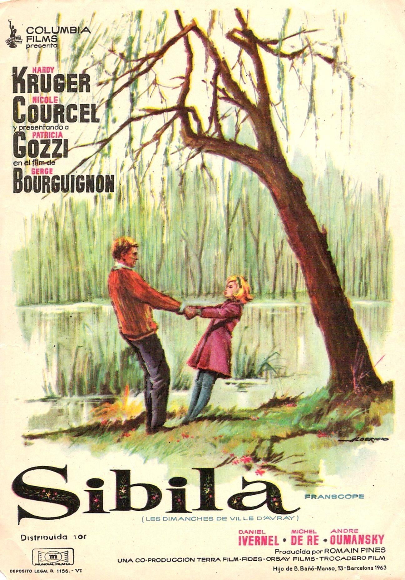 Sibila 1962 Tt0055910 Esp Pgs 01 Carteleras De Cine Carteles De Cine Afiche De Pelicula