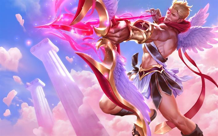 Download wallpapers Cupid, characters, art, League Of Legends