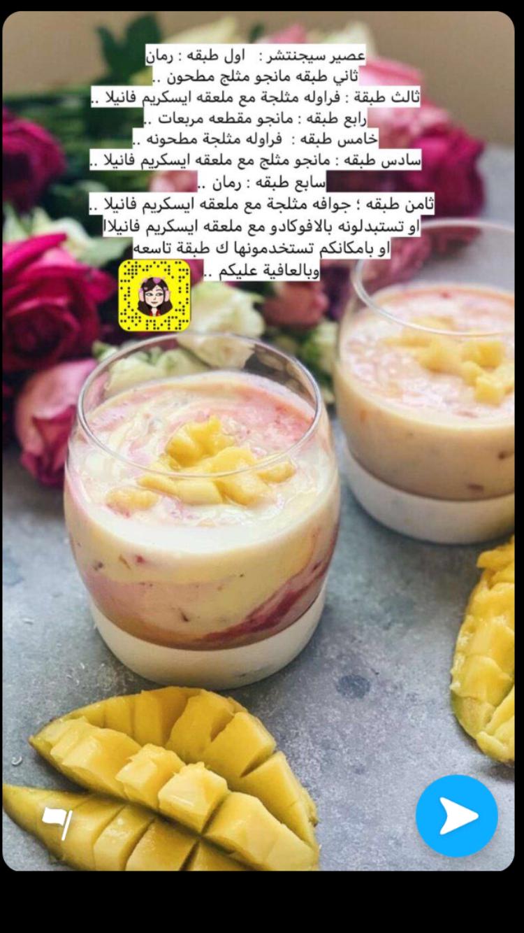 Pin By Mona El Roo7 On مشروبات Food Recipes Mini Cheesecake