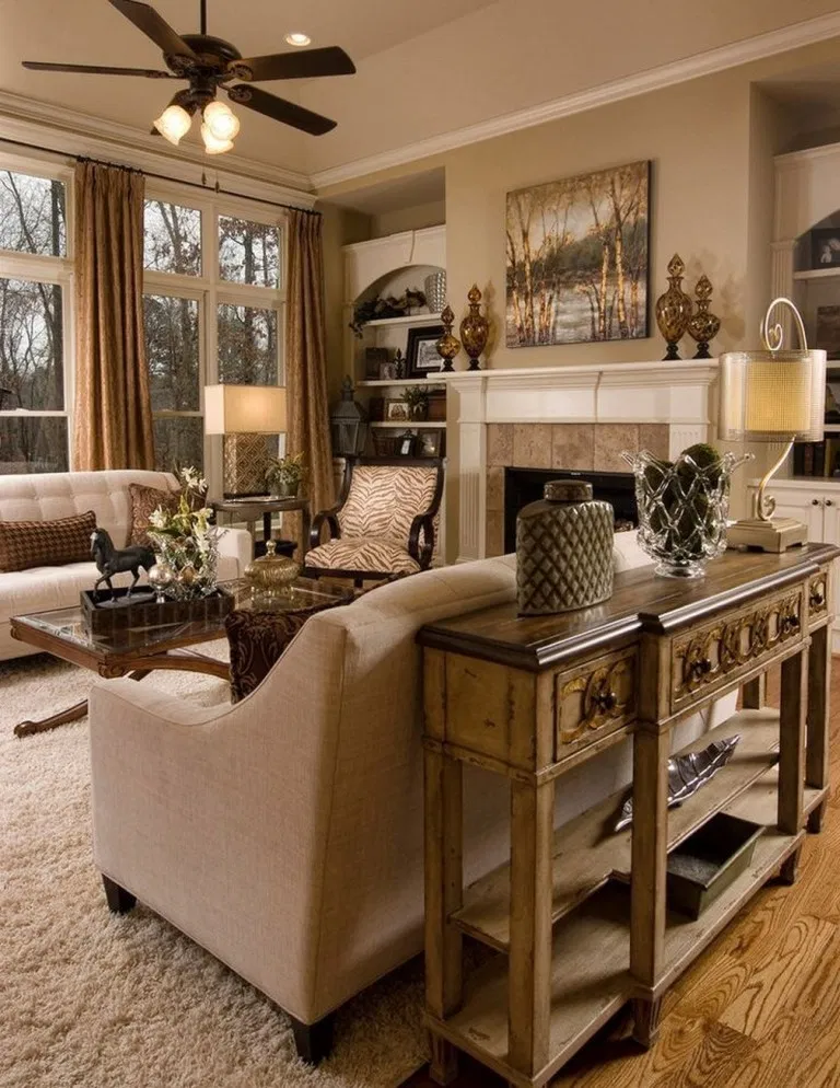 21+ stunning traditional living room furniture ideas 24 in ...