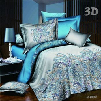 Purple And Teal Peacock Bedding Google Search Bed Linens