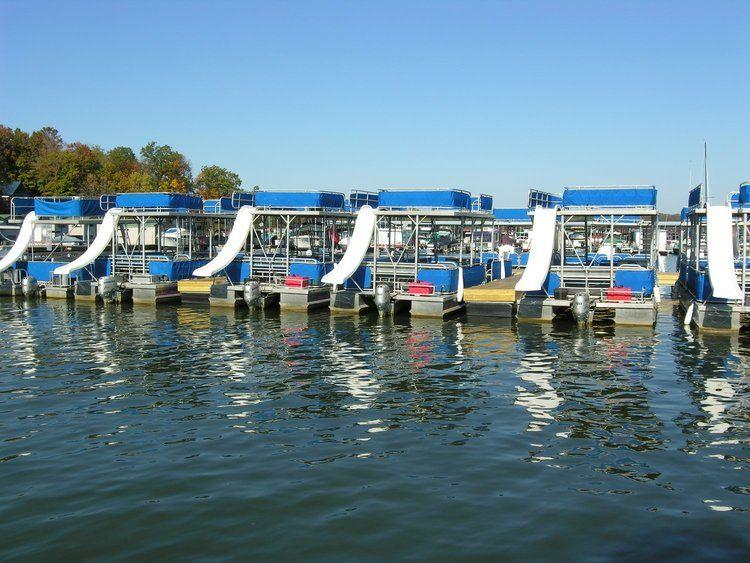 Fun play toons pontoon boat with slide boat rental