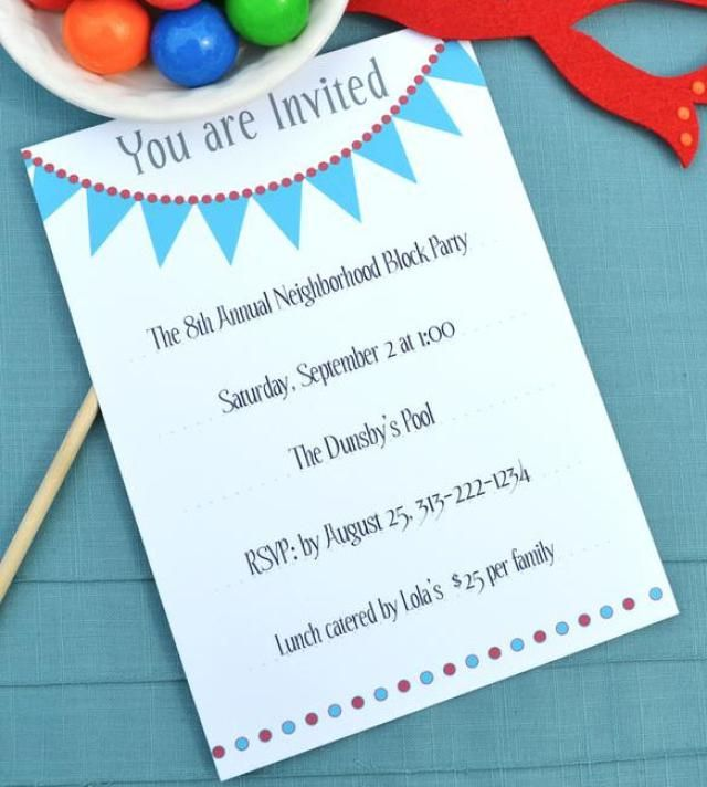 Free Printable and Email Birthday Party Invitations Free – Print Birthday Invitations Free Printable