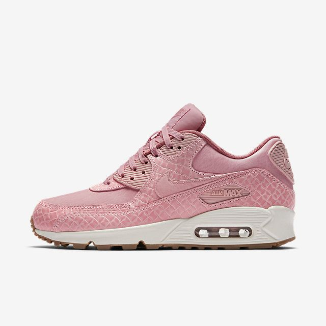 Nike Air Max 90 Premium Womens SailRed StardustPearl Pink