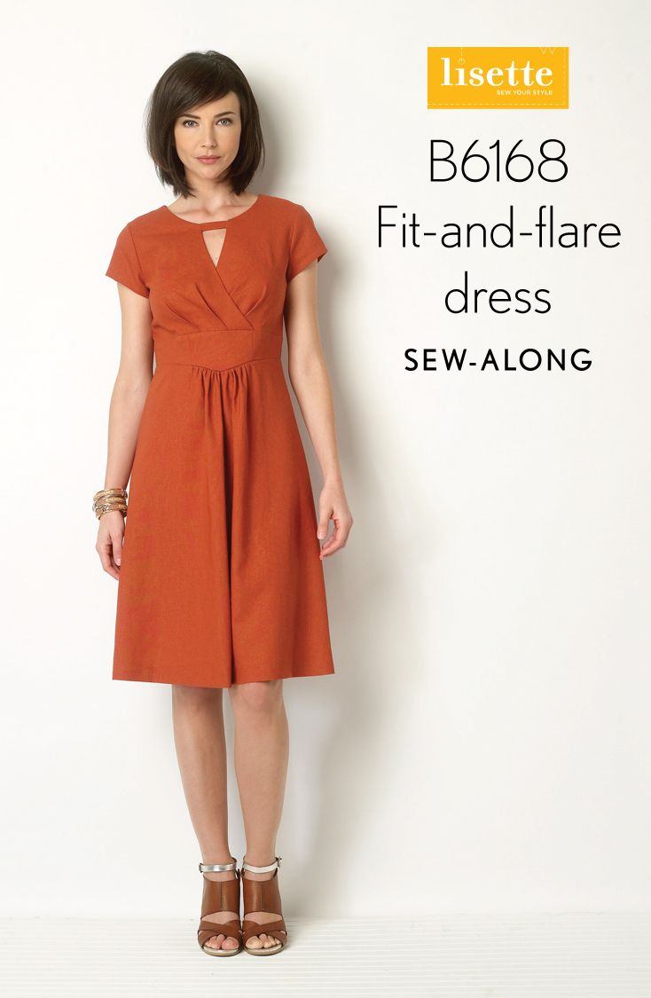 Lisette, Butterick 6168 Fit-And-Flare Dress Sew-a-Long