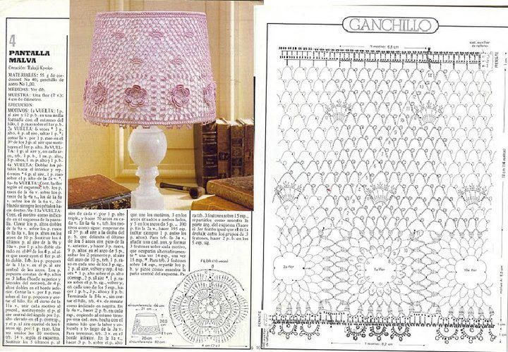 El baúl de la Nona: Pantallas a crochet | DECORATION TRICOT/CROCHET ...