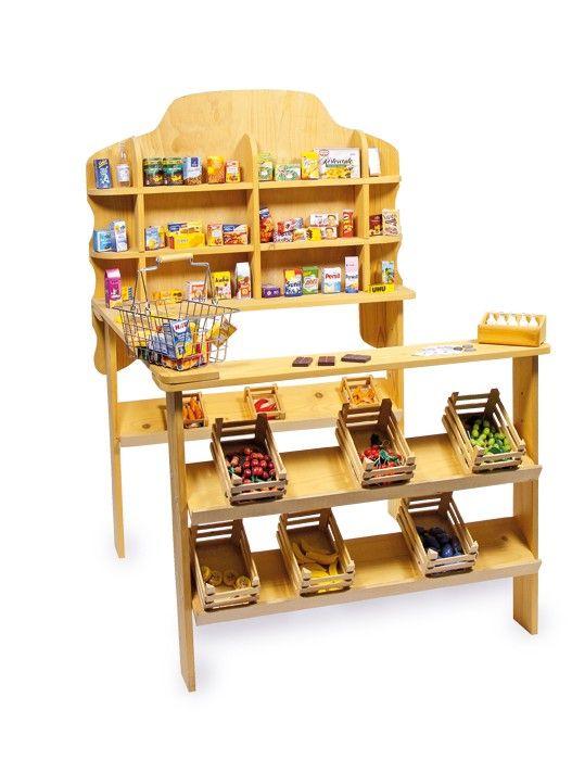 tienda estilo frutera de madera de juguete para nios padres educacion
