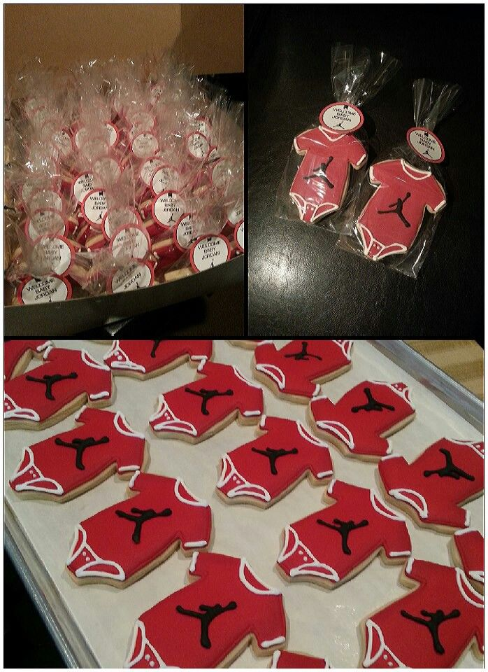 Awesome Baby Jordan Cookies..could Change Logo