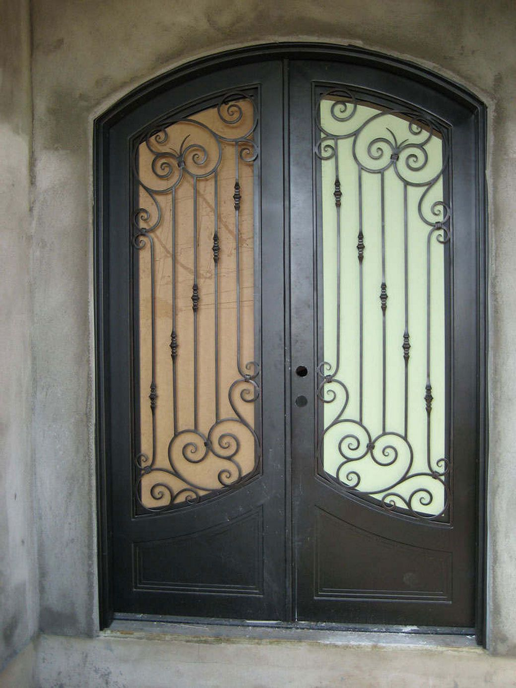 The Advantages Of The Wrought Iron Front Doors Simple Wrought