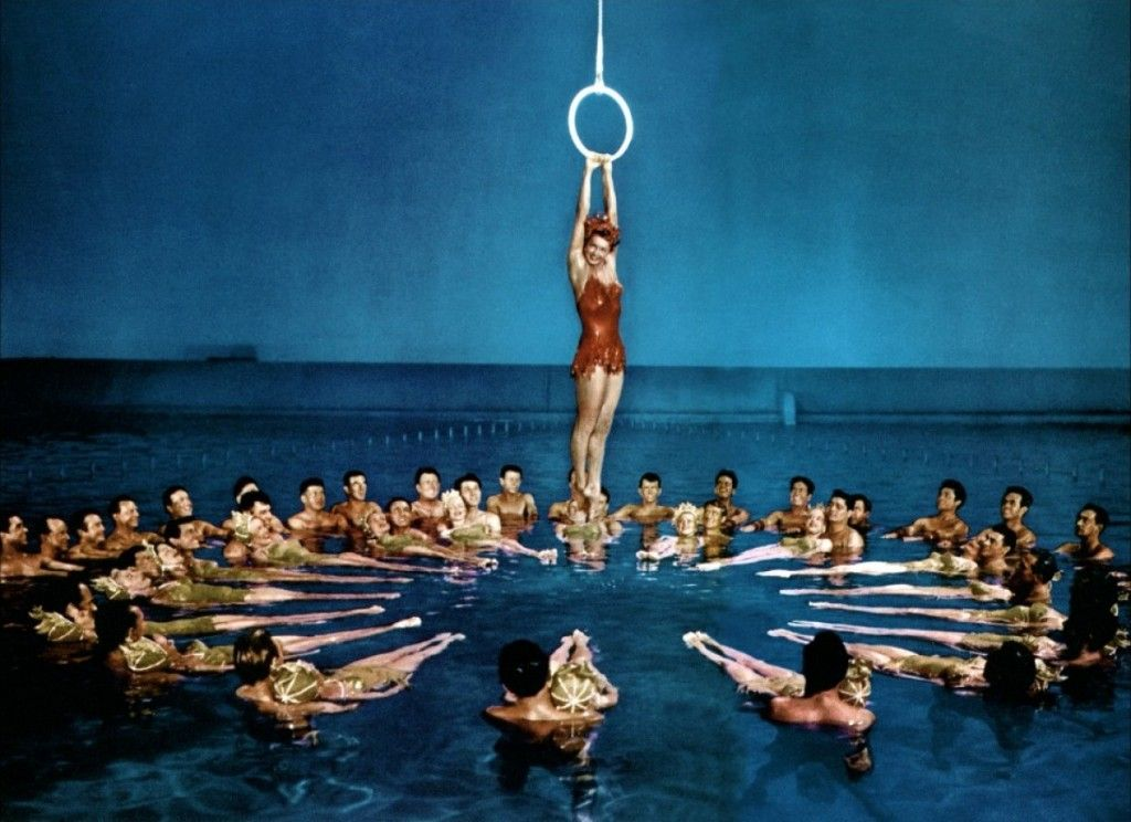Esther Williams - real synchronized swimming!   Esther ...