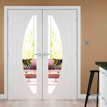 Beautiful Interior Glazed French Doors   Interior French Doors