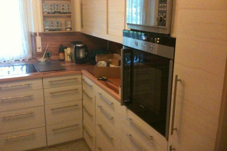 Bau Einer Einbaukuche Einbaukuche Kuche Arbeitsplatte