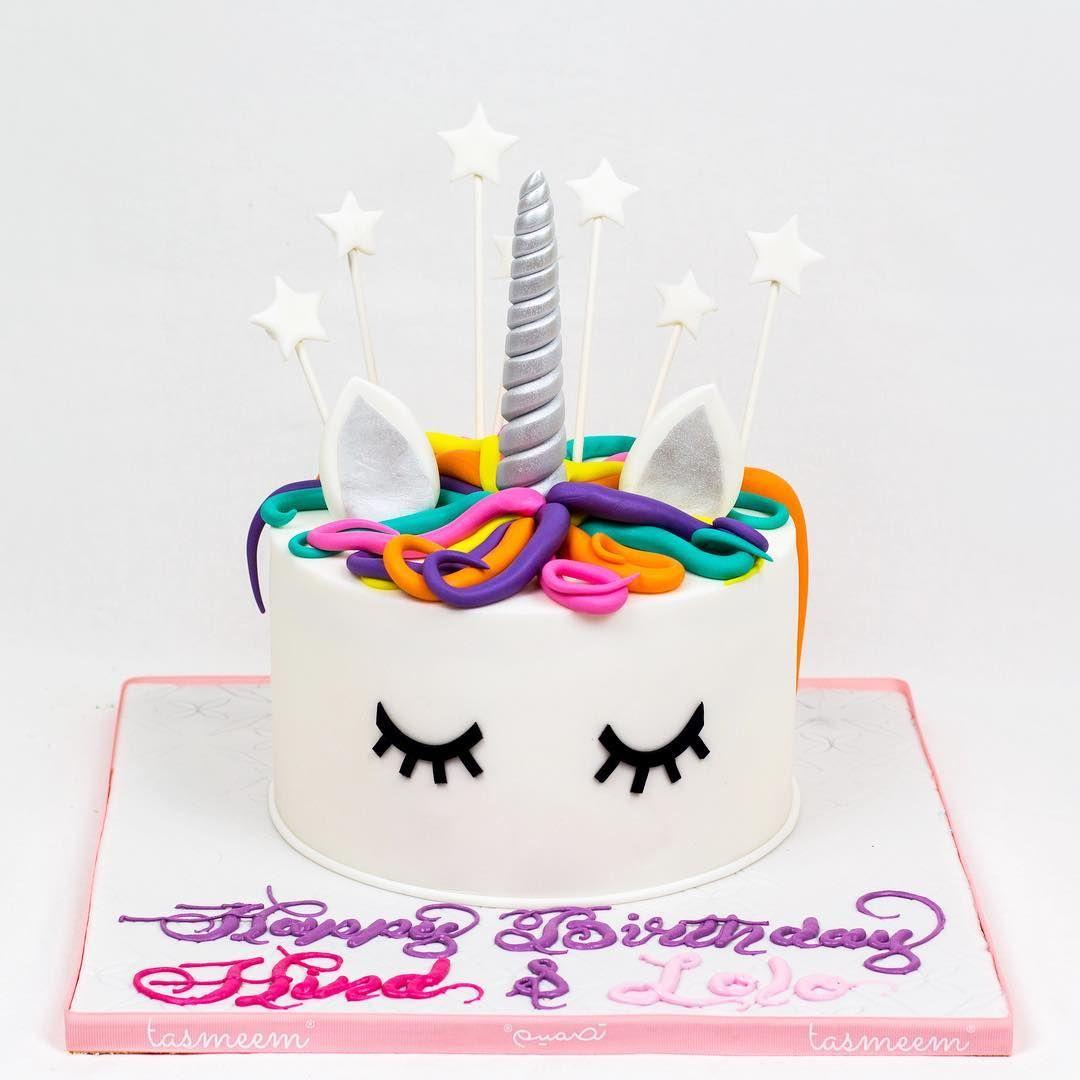 يمكنكم طلب كيكات تصميم عن طريق الموقع الإلكتروني الرابط في البايو او عن طريق الواتس اب على الرقم او من خ Unicorn Cake Birthday Cake Unicorn Birthday Parties